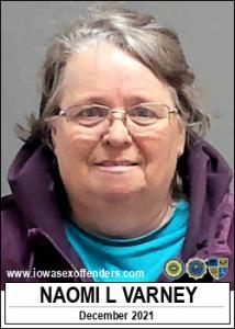 Naomi Lovone Varney a registered Sex Offender of Iowa