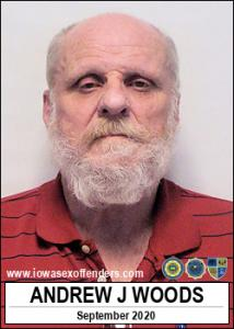Andrew Jay Woods a registered Sex Offender of Iowa