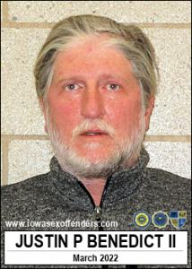 Justin Price Benedict II a registered Sex Offender of Iowa