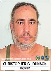 Christopher Gene Johnson a registered Sex Offender of Iowa