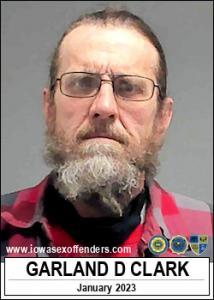 Garland D Clark a registered Sex Offender of Iowa
