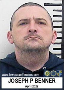Joseph Paul James Benner a registered Sex Offender of Iowa