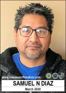 Samuel Narciso Diaz a registered Sex Offender of Iowa