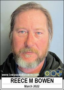 Reece Marvin Bowen a registered Sex Offender of Iowa