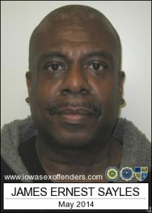 James Ernest Sayles a registered Sex Offender of Iowa