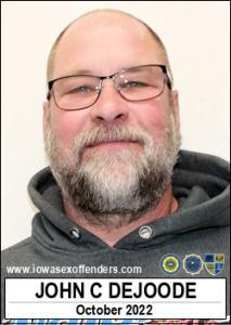 John Charles Dejoode a registered Sex Offender of Iowa