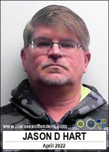 Jason Daniel Vincent Hart a registered Sex Offender of Iowa