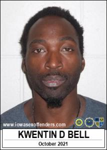 Kwentin Detrayce Bell a registered Sex Offender of Iowa