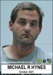 Michael Ryan Hynes a registered Sex Offender of Iowa