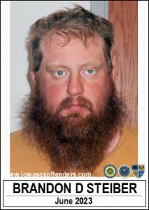 Brandon David Steiber a registered Sex Offender of Iowa