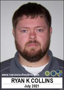 Ryan Keith Collins a registered Sex Offender of Iowa