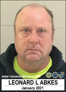 Leonard Lee Abkes a registered Sex Offender of Iowa