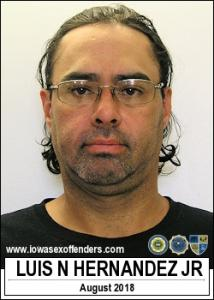 Luis Nathan Hernandez Jr a registered Sex Offender of Iowa