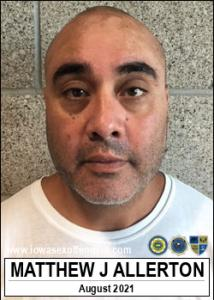 Matthew John Allerton a registered Sex Offender of Iowa