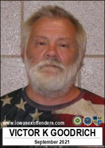 Victor Keith Goodrich a registered Sex Offender of Iowa