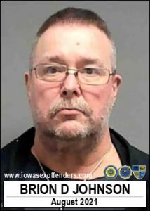 Brion Dodd Johnson a registered Sex Offender of Iowa