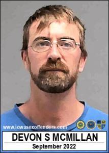 Devon Scott Mcmillan a registered Sex Offender of Iowa