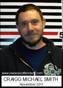 Craigg Michael Smith a registered Sex Offender of Iowa
