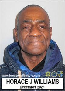 Horace Jerome Williams a registered Sex Offender of Iowa