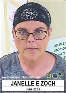 Janelle Elizabeth Zoch a registered Sex Offender of Iowa