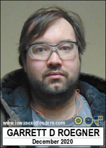 Garrett Drew Roegner a registered Sex Offender of Iowa