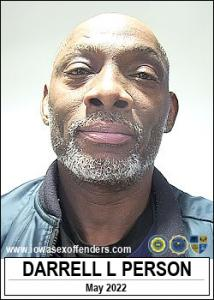 Darrell Lee Person a registered Sex Offender of Iowa