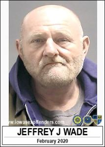 Jeffrey James Wade a registered Sex Offender of Iowa