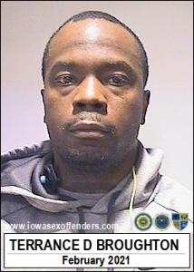 Terrance Demarcus Broughton a registered Sex Offender of Iowa