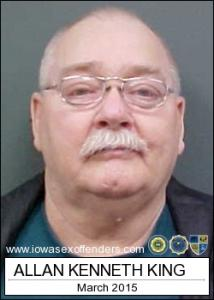 Allan Kenneth King Jr a registered Sex Offender of Iowa