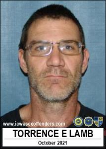 Torrence Edward Lamb a registered Sex Offender of Iowa