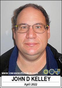 John Douglas Kelley a registered Sex Offender of Iowa