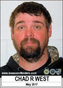 Chad Richard West a registered Sex Offender of Iowa