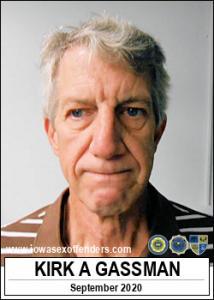 Kirk Alan Gassman a registered Sex Offender of Iowa