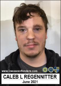 Caleb Lee Regennitter a registered Sex Offender of Iowa