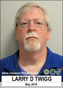 Larry David Twigg a registered Sex Offender of Iowa