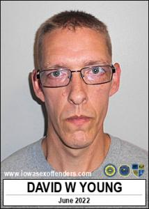 David Wayne Young a registered Sex Offender of Iowa