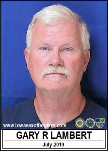 Gary Robert Lambert a registered Sex Offender of Iowa