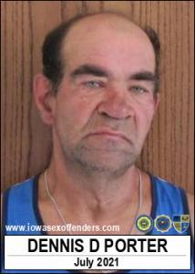 Dennis Dean Porter a registered Sex Offender of Iowa