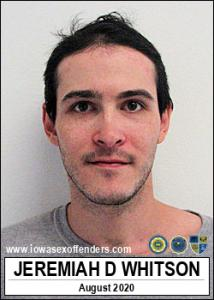 Jeremiah Dean Whitson a registered Sex Offender of Iowa