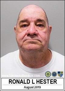 Ronald Lee Hester a registered Sex Offender of Iowa