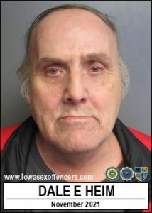 Dale Edmund Heim a registered Sex Offender of Iowa