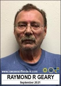 Raymond Ross Geary a registered Sex Offender of Iowa