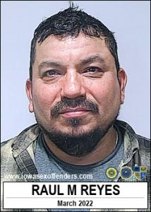 Raul Manuel Reyes a registered Sex Offender of Iowa