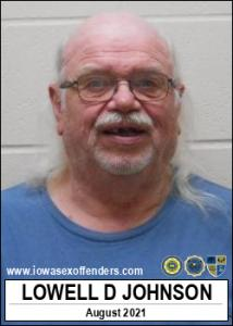 Lowell Duane Johnson a registered Sex Offender of Iowa