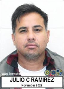 Julio Cesar Ramirez a registered Sex Offender of Iowa