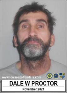 Dale Wayne Proctor a registered Sex Offender of Iowa