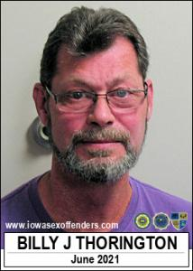 Billy Jerome Thorington a registered Sex Offender of Iowa