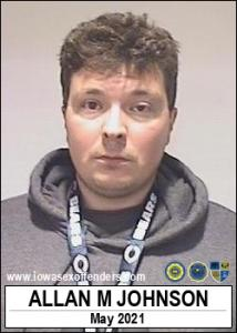 Allan Michael Johnson a registered Sex Offender of Iowa
