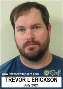 Trevor Lee Erickson a registered Sex Offender of Iowa