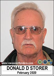 Donald Daye Storer a registered Sex Offender of Iowa